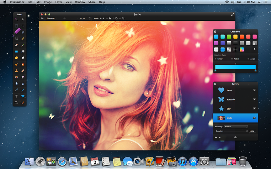 pixelmator windows